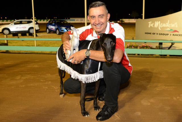 Jason Thompson with Deliver following his second Group 1 win in 24 career starts.
